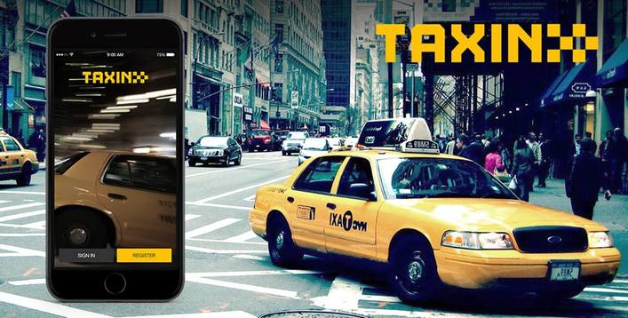 app development for taxi services